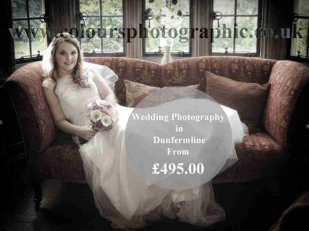 Wedding-Photography-Packages & Prices- Dunfermline-Scotland